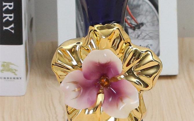 Prekrásna porcelánová váza s kvetom v tmavomodro zlatej farbe 1 670x420 - Prekrásna porcelánová váza s kvetom v tmavomodro-zlatej farbe v troch rôznych variantoch