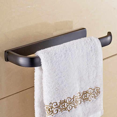 Držiak na uteráky do kúpeľne v cierna - Držiak na uteráky do kúpeľne v štyroch rôznych farbách