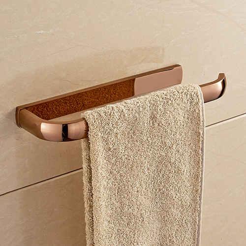 Držiak na uteráky do kúpeľne v ruzovo zlatej - Držiak na uteráky do kúpeľne v štyroch rôznych farbách