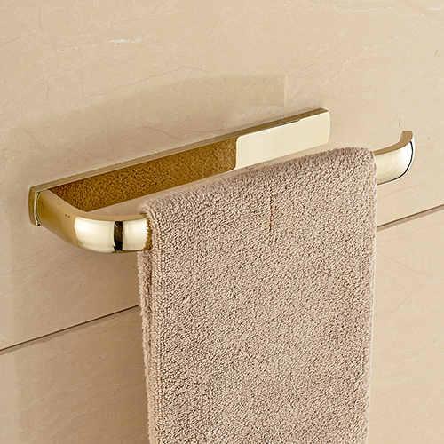 Držiak na uteráky do kúpeľne v zlatej - Držiak na uteráky do kúpeľne v štyroch rôznych farbách