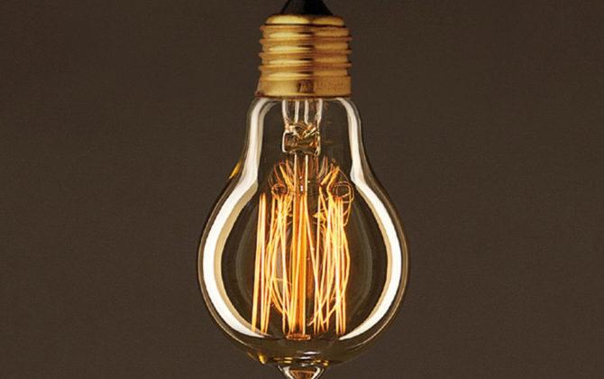 EDISON žiarovka CLASSIC E. Dekoratívna žiarovka s uhlíkovým vláknom má klasický tvar gule s dekoračným uhlíkovým vláknom 1 670x420 - EDISON žiarovka - CLASSIC E - E27, 30W, 60lm