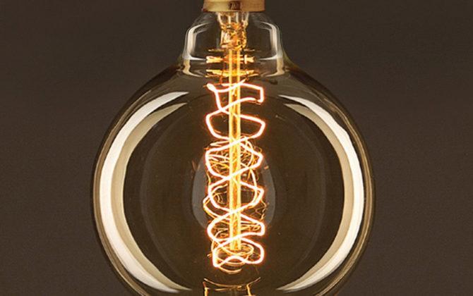 EDISON žiarovka SPIRAL GLOBUS E27 30W 60lm 1 670x420 - EDISON žiarovka – SPIRAL SPHERE – E27, 30W, 60lm