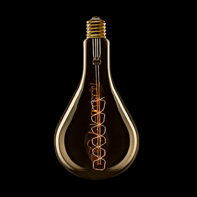 EDISON žiarovka XXL SPIRAL E27 60W 60lm 2 - EDISON žiarovka - XXL SPIRAL - E27, 30W, 60lm
