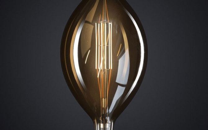Edison Soft žiarovka, Big Mallet, E27, 1000lm, 11W, Teplá biela, stmievateľná (1)