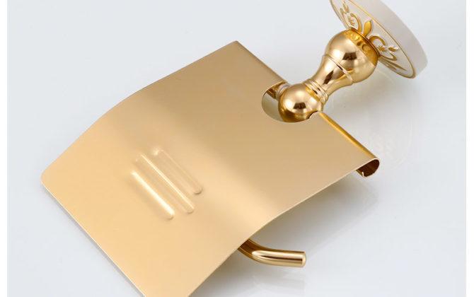 Elegantný držiak na toaletný papier v zlatej farbe  670x420 - Elegantný držiak na toaletný papier v zlatej farbe