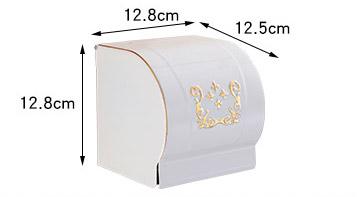 Elegantný stojan na toaletný papier v bielej farbe 1 1 - Elegantný stojan na toaletný papier v bielej farbe