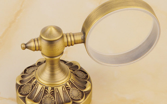 Luxusný staromosadzný stojan s miskou na mydlo . 1 670x420 - Luxusný staromosadzný stojan s miskou na mydlo