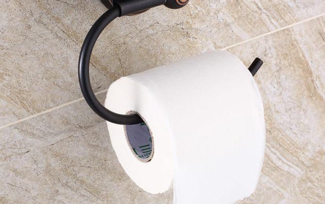 Vintage mosadzný držiak na toaletný papier v čiernej farbe.. 670x420 - Vintage mosadzný držiak na toaletný papier v čiernej farbe