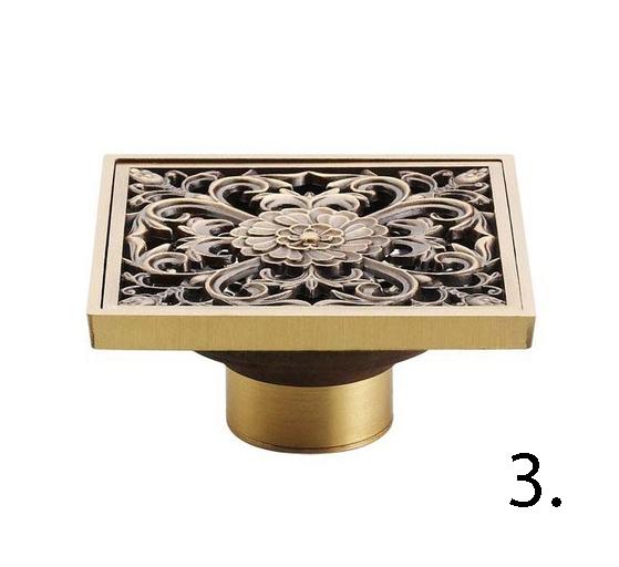 Elegantná podlahová vpusť do kúpeľne 3 - Elegantná podlahová vpusť do kúpeľne v rôznych prevedeniach