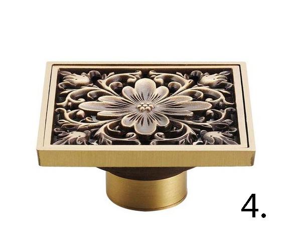 Elegantná podlahová vpusť do kúpeľne 4 - Elegantná podlahová vpusť do kúpeľne v rôznych prevedeniach