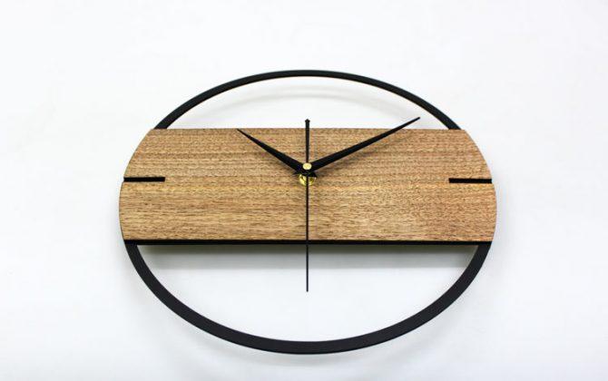 Jedinečné moderné drevené nástenné hodiny.. 670x420 - Jedinečné moderné drevené nástenné hodiny