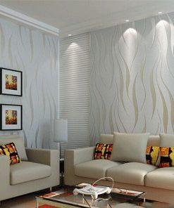 Moderná reliéfna tapeta na stenu v rôznych farebných prevedeniach