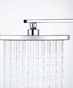 Kvalitná pochrómovaná hlavová sprcha - 23 x 23 cm