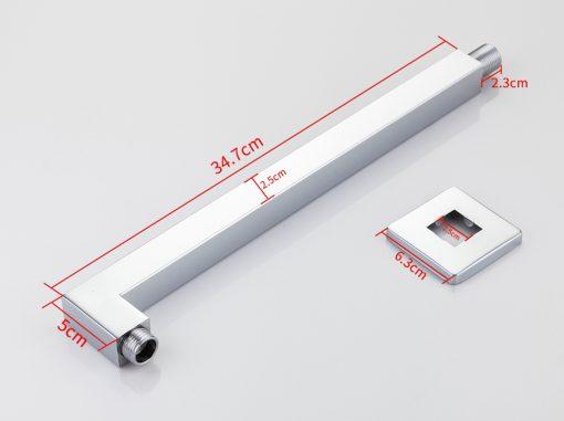 Kvalitný držiak / rameno hlavovej sprchy - model D