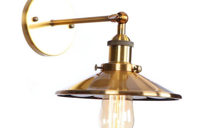 Zrkadlová Vintage nástenná lampa v bronzovej farbe 3 670x420 - Zrkadlová Vintage nástenná lampa v bronzovej farbe