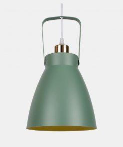 Závesné hliníkové svietidlo Multicolor v zelenej farbe (2)