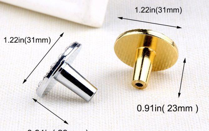 Úchytka na nábytok MIRROR zlatá farba 1 670x420 - Úchytka na nábytok MIRROR, strieborná farba, 31mm