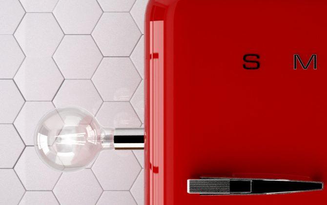 Magnetico® sú magentické lampy a svietidlá z farebných magnetických kovov ktoré sa dajú pripevniť magneticky na povrch akéhokoľvek železného materiálu pomocou magnetu 1 670x420 - Magnetické svietidlo Magnetico®-Plug, biela farba