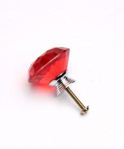 Rúčka pre nábytok DIAMAND, červená farba