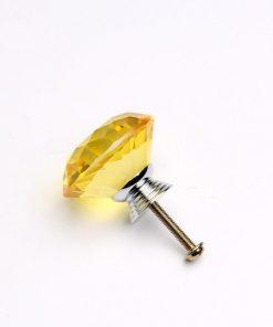 Rúčka pre nábytok DIAMAND, žltá farba