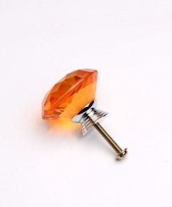 Rúčka pre nábytok DIAMAND, pomarančová farba