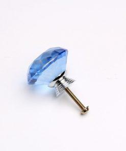Rúčka pre nábytok DIAMAND, modrá farba