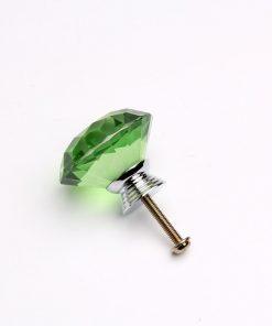 Rúčka pre nábytok DIAMAND, zelená farba, 40mm