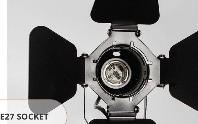 Stropné a nástenné svietidlo v štýle retro reflektora 10 670x420 - Nástenné a stropné svietidlo v štýle retro reflektora