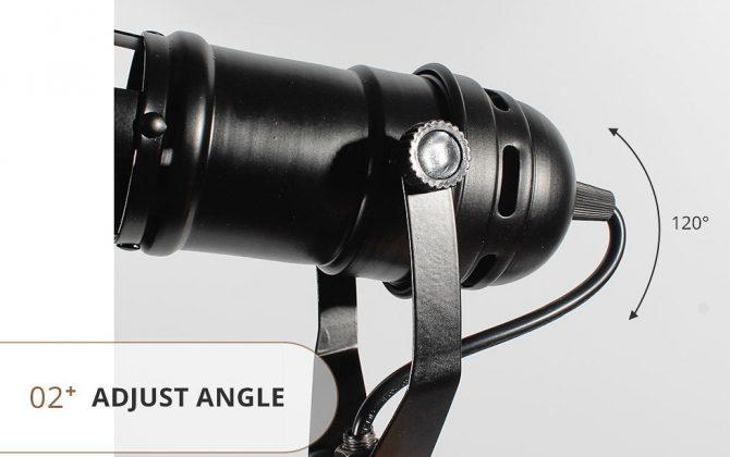 Stropné a nástenné svietidlo v štýle retro reflektora 4 670x420 - Nástenné a stropné svietidlo v štýle retro reflektora