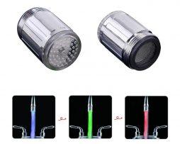 Ak hľadáteoriginálne oživeniedo Vašej kúpeľne alebo kuchyne, Svetlo LED na vodovodný kohútikje to pravé pre Vás
