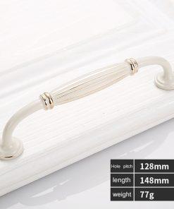 Kľučka pre nábytok vo Retro štýle, 128mm
