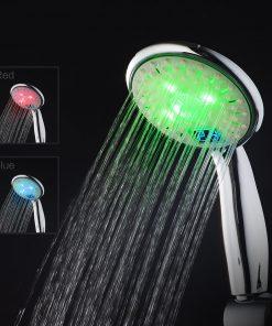 farebná hlavica do sprchy, farebná sprchová hlavica, hlavica do kúpeľne, Hlavica LED, kúpeľna, kupelnove svetlo, LED, LED do kúpeľne, LED farebná hlavica, LED hlavica, LED sprchová hlavica, LED svetlo do batérie, LED svetlo do kúpelne, sprcha, sprcha LED, sprchová hlavica, sprchová hlavica do kúpeľne, sprchová hlavica LED, sprchová hlavica s teplomerom, sprchové hlavice, Svetelná hlavica, svetlo do sprchy, Svietiaca LED, Svietiaca LED do kupelne, Svietiaca RGB