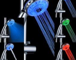 LED Nastaviteľná masážna sprchová hlavica vám ponúka fantastický zážitok pri sprchovaní (1)