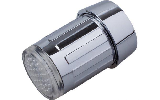 Svietiaci LED nadstavec na kohútik (6)