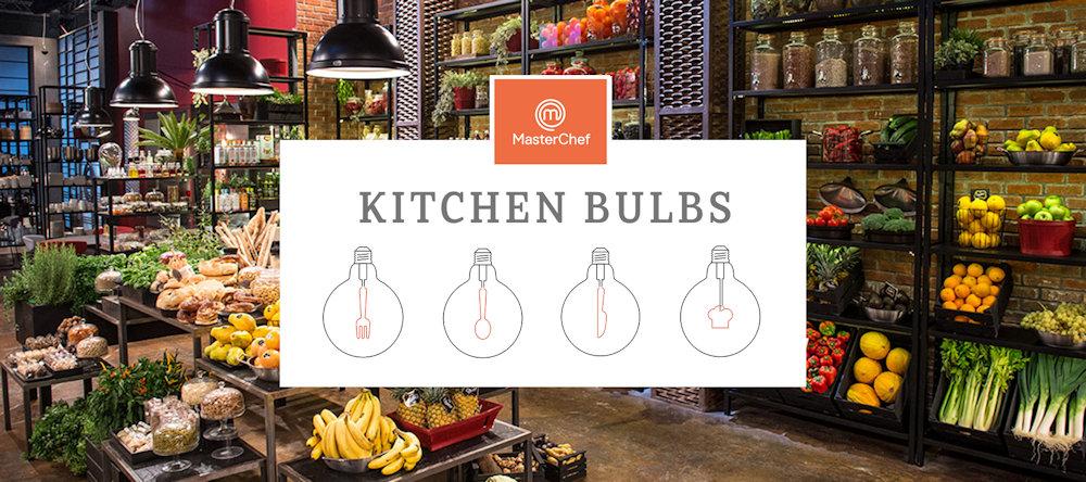 Táto jedinečná limitovaná kolekcia MasterChef žiaroviek je vhodná pre dekoráciu Vašej kuchyne. - MASTERCHEF kuchynská žiarovka FORK, Teplá biela, 4W, 130lm