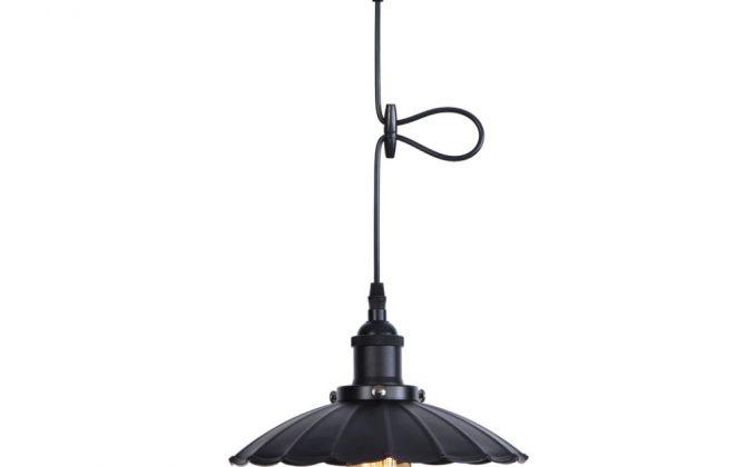 Dekoračné historické svietidlo s nastaviteľnou výškou kábla čierna farba. 670x420 - Dekoračné historické svietidlo s nastaviteľnou výškou kábla, čierna farba