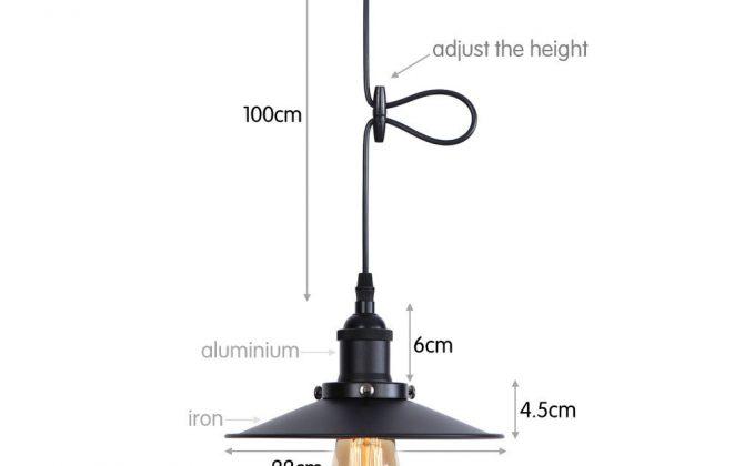 Historické visiace svietidlo s nastaviteľnou výškou kábla čierna farba 2 670x420 - Historické visiace svietidlo s nastaviteľnou výškou kábla, čierna farba