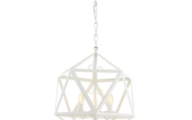 Kreatívne závesné svietidlo PETRA v tvare mnohouholníka. Tienidlo v tvare mnohouholníka z kvalitného kovového materiálu (2)
