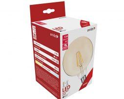 LED Filament žiarovka AVIDE, G95, 8W, E27, 806lm, Stmievateľná (1)