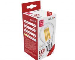 LED Filament žiarovka AVIDE, Globe, 10W, E27, 1040lm, Stmievateľná (1)