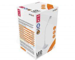 Stolná LED lampa s Bluetooth reproduktorom, 4W, 250lm, biela farba (2)