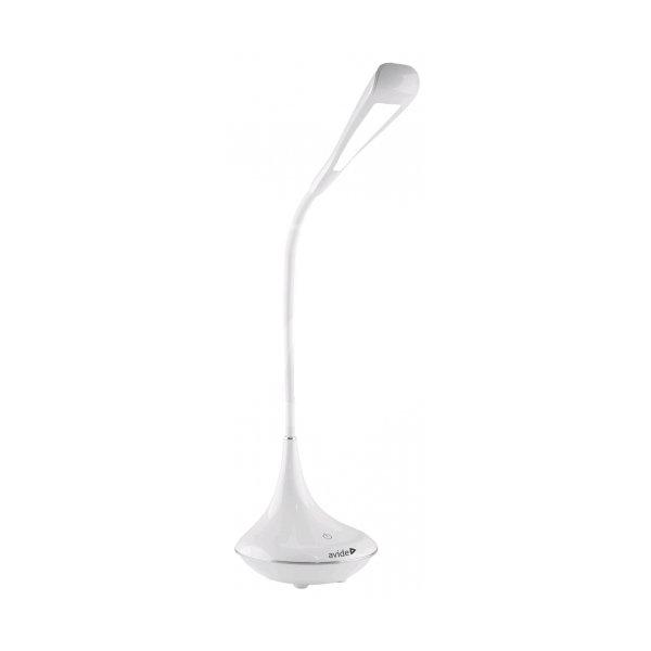 c31af3551 Stolná LED lampa s Bluetooth reproduktorom, 4W, 250lm, biela farba (3)