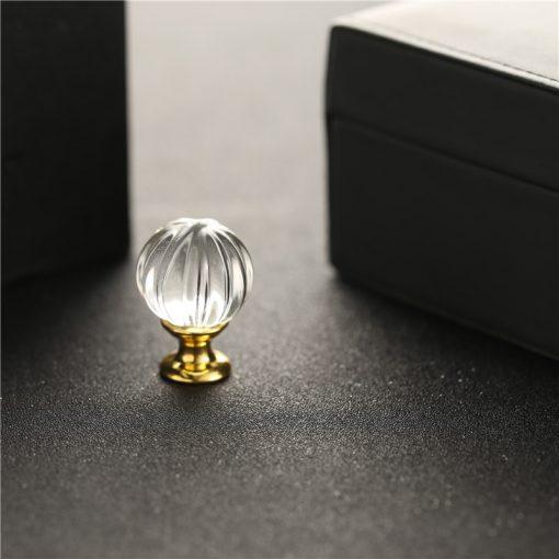 Úchyt na dvierka DECOR, zlatý, 30mm