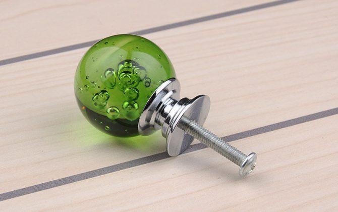 Úchyt na nábytok Bubble Ball GREEN 30mm 1 670x420 - Úchyt na nábytok Bubble Ball, GREEN, 30mm