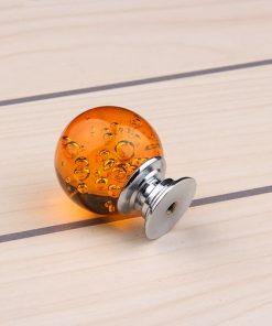 Úchyt na nábytok Bubble Ball, ORANGE, 30mm