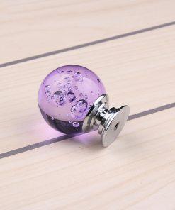 Úchyt na nábytok Bubble Ball, PURPLE, 30mm