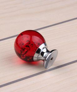 Úchyt na nábytok Bubble Ball, RED, 30mm