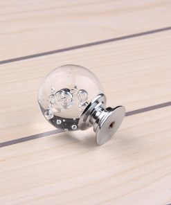 Úchyt na nábytok Bubble Ball, TRANSPARENT, 30mm