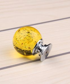 Úchyt na nábytok Bubble Ball, YELLOW, 30mm (2)