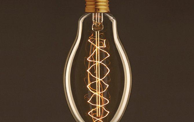 EDISON žiarovka - SPIRAL EGG - E27, 30W, 60lm (1)